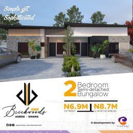 2 bedroom Semi Detached Bungalow House for sale Asese Simawa Mowe Obafemi Owode Ogun