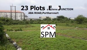 Commercial Land Land for sale Eleme Junction,Aba Road Portharcourt, Rivers State. Port-harcourt/Aba Expressway Port Harcourt Rivers
