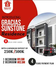 2 bedroom Blocks of Flats House for sale Close to Dangote Refinery, Eleko, Ibeju-Lekki. Eleko Ibeju-Lekki Lagos