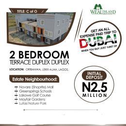 2 bedroom Terraced Duplex for sale Wealthland Green Estate, Oribanwa Awoyaya Ajah Lagos
