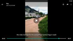 Serviced Residential Land Land for sale Fagun Road3 Ondo West Ondo