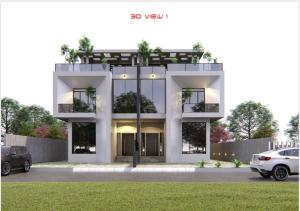 5 bedroom Semi Detached Duplex House for sale Cowrie creek estate by Nicon town ikate  Ikate Lekki Lagos