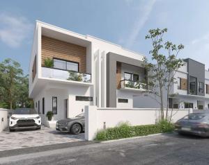 Semi Detached Duplex for sale G R A Abijo Ajah Lagos