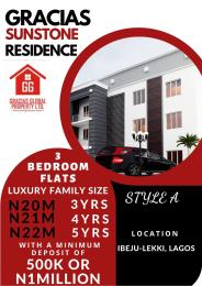 3 bedroom Blocks of Flats House for sale Ibeju lekki,Lagos  Free Trade Zone Ibeju-Lekki Lagos