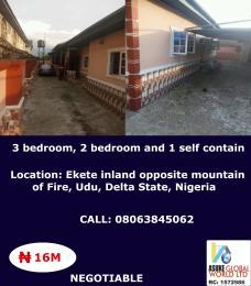 House for sale Ekete inland opposite mountain of fire udu Delta state Nigeria Udu Delta