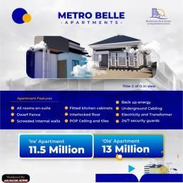 3 bedroom Detached Bungalow for sale Alaase, 4mins Drive From The Train Terminal Moniya Ibadan Oyo