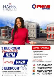4 bedroom Flat / Apartment for sale Haven Residence, Abijo Ajah Lagos