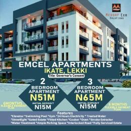 3 bedroom Blocks of Flats House for sale Emcel Apartments Ikate Lekki Lagos