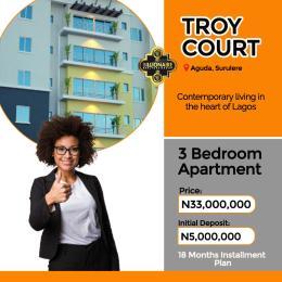 3 bedroom Mini flat Flat / Apartment for sale Troy court Aguda Surulere Lagos