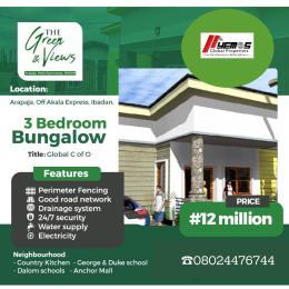 3 bedroom Detached Bungalow House for sale ARAPAJA Akala Express Ibadan Oyo