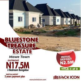 3 bedroom Detached Bungalow House for sale Mowe Town Road Mowe Obafemi Owode Ogun
