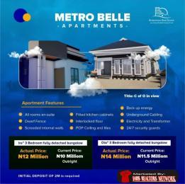 3 bedroom Detached Bungalow for sale 4 Mins Drive From Lagos Ibadan Train Terminal Ibadan Oyo