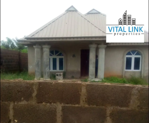 3 bedroom Detached Bungalow House for sale Zone F Halleluyah Estate Osogbo Osun