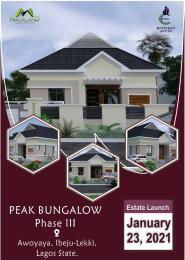 3 bedroom Semi Detached Bungalow House for sale Awoyaya ibeju lekki Bogije Sangotedo Lagos