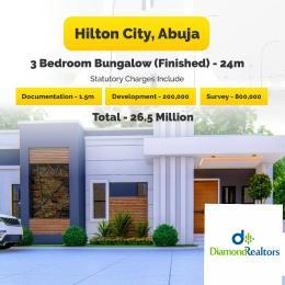 3 bedroom Detached Bungalow for sale Kurudu Kurudu Abuja