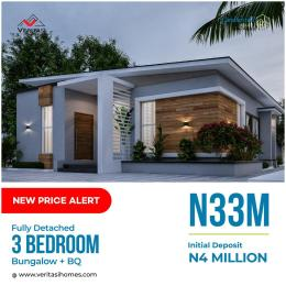 3 bedroom Detached Bungalow House for sale 4 minutes from Novare Mall(Shoprite) Abijo Ajah Lagos