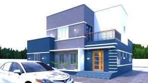 3 bedroom Detached Bungalow House for sale Inside Golfview Estate, Lakowe Bogije Sangotedo Lagos