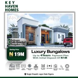 Detached Bungalow House for sale Shapati Eleko Ibeju-Lekki Lagos