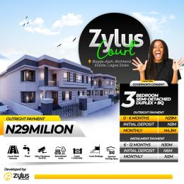 4 bedroom Semi Detached Duplex House for sale 5 Minutes Drive From ShopRite Bogije Sangotedo Lagos