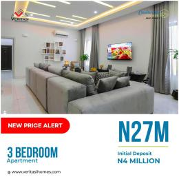 3 bedroom Flat / Apartment for sale 4 Minutes From Novare Mall(Shoprite) Abijo Ajah Lagos