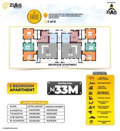 3 bedroom Flat / Apartment for sale By Ajiwe Bus Stop Abraham adesanya estate Ajah Lagos