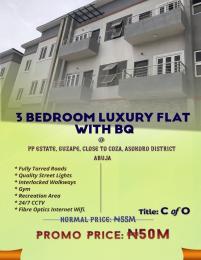 3 bedroom Blocks of Flats House for sale Guzape Asokoro District Abuja.  Asokoro Abuja