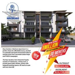 3 bedroom Mini flat for sale Magboro Obafemi Owode Ogun