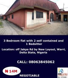 3 bedroom House for sale Off Jskpa Road By New Layout,warri Delta State Nigeria Warri Delta