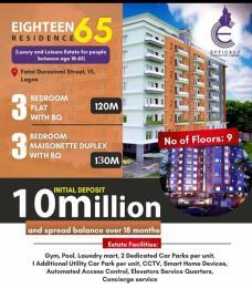 3 bedroom Blocks of Flats for sale Eighteen65 Residences Idowu Taylor Victoria Island Lagos