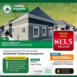 3 bedroom Detached Duplex House for sale Mowe Obafemi Owode Ogun