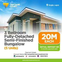 3 bedroom Detached Bungalow House for sale Richland Estate Bogije Bogije Sangotedo Lagos