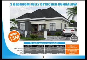 3 bedroom Detached Bungalow House for sale Trillion Park Estate Alatise Ibeju-Lekki Lagos