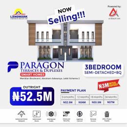 3 bedroom Semi Detached Duplex House for sale Paragon Terraces And Duplexes Smart Homes Inside Meridian Boulevard Estate Okun Ajah A Place Of Royalty Okun Ajah Ajah Lagos