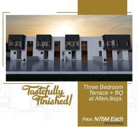 3 bedroom Terraced Duplex House for sale Allen Avenue Ikeja Lagos