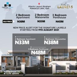 Penthouse for sale Atlantic Layout Estate Abraham adesanya estate Ajah Lagos