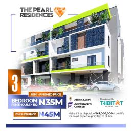 3 bedroom Penthouse Flat / Apartment for sale The Pearl Residences, 1 Minute From Lekki Epe Expressway Abijo Ajah Lagos