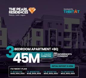 3 bedroom Blocks of Flats for sale Lekki Pearl Garden Abijo, Behind Oando Fuel Station Off Lekki Epe Expressway Abijo Ajah Lagos