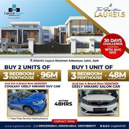 3 bedroom Penthouse for sale Abraham adesanya estate Ajah Lagos