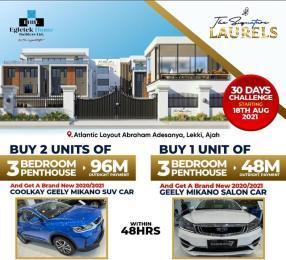 3 bedroom House for sale Atlantic Layouts Estate,general Pant Bus Stop Abraham adesanya estate Ajah Lagos