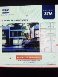 3 bedroom Semi Detached Duplex House for sale Lekki Epe Expressway  Abraham adesanya estate Ajah Lagos