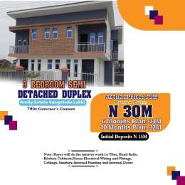 3 bedroom Semi Detached Duplex House for sale Sangotedo  Sangotedo Ajah Lagos