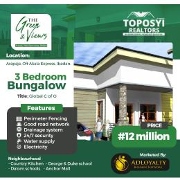 3 bedroom Semi Detached Bungalow House for sale By Car Wash in Asunle Bus Stop Akala Express Ibadan Oyo