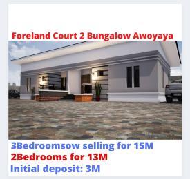 3 bedroom Semi Detached Bungalow for sale Foreland Court Phase 2 Awoyaya Ajah Lagos