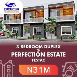 Semi Detached Duplex House for sale Egolima District, Festac phase 2 Festac Amuwo Odofin Lagos