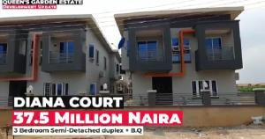 3 bedroom Semi Detached Duplex for sale *neighbourhood* Ogc Foods And Beverages Ltd Channels Television Station Rainbow F.m Station Compass Newspaper Isheri Egbe/Idimu Lagos