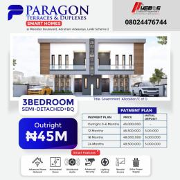 3 bedroom Semi Detached Duplex for sale Okun Ajah Ajah Lagos