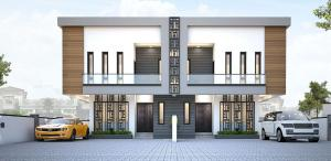 3 bedroom Semi Detached Duplex House for sale Meridian Boulevard Estate, Ogombo Road, Ajah Ogombo Ajah Lagos