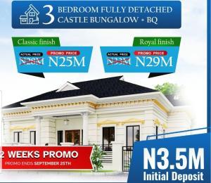 Semi Detached Duplex House for sale Addyholly Castle Oribanwa Ibejulekki 2mins From Mayfair Gardens Awoyaya Oribanwa Ibeju-Lekki Lagos