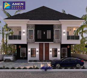 3 bedroom Semi Detached Duplex House for sale 3 bedroom Semi detached duplex Amen ESTATE Phase 2 Eleko Ibeju-Lekki Lagos