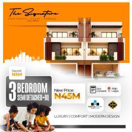 3 bedroom Semi Detached Duplex House for sale The Signature Estate Abijo GRA  Abijo Ajah Lagos